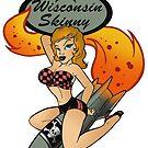 Wisconsin Skinny Bomber Girl by wisconsinskinny
