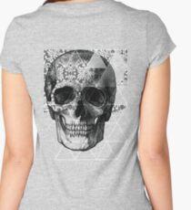 Dias de Los Geomuertos Women's Fitted Scoop T-Shirt