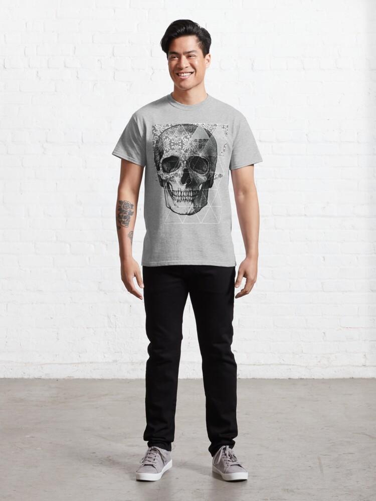 Alternate view of Dias de Los Geomuertos Classic T-Shirt