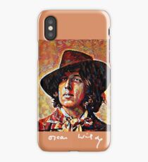 Oscar Wilde with Signature iPhone Case/Skin