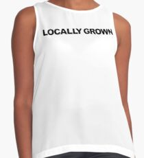 Locally Grown Contrast Tank