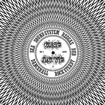One Love In Ska SoundSystem Reggae Dub DanceHall Rocksteady  by MrHippy