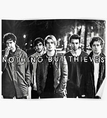 Nothing But Thieves - Graveyard Whistling Poster