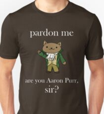 Alexander Hamilcat (White Text) T-Shirt
