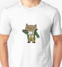 Alexander Hamilcat (White Text) Unisex T-Shirt