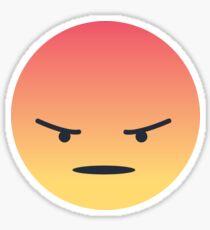 Facebook Angry Emoji Sticker