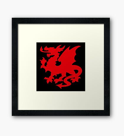 Red Dragon VRS2 Framed Print