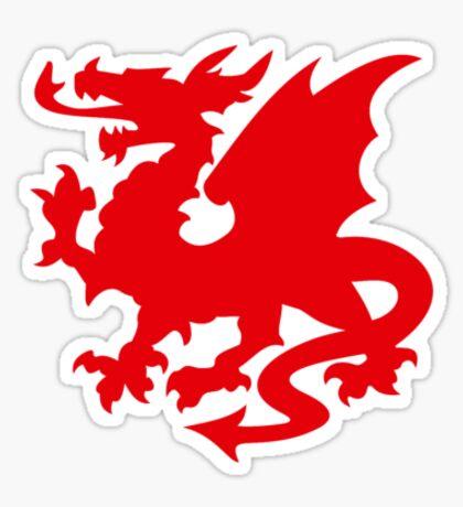 Red Dragon VRS2 Sticker