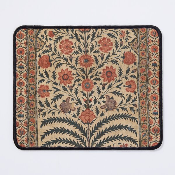 Vintage Panel from a Tent Lining, India 1725–50 Mouse Pad