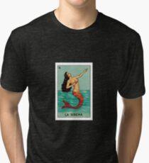 Loteria: La Sirena Tri-blend T-Shirt