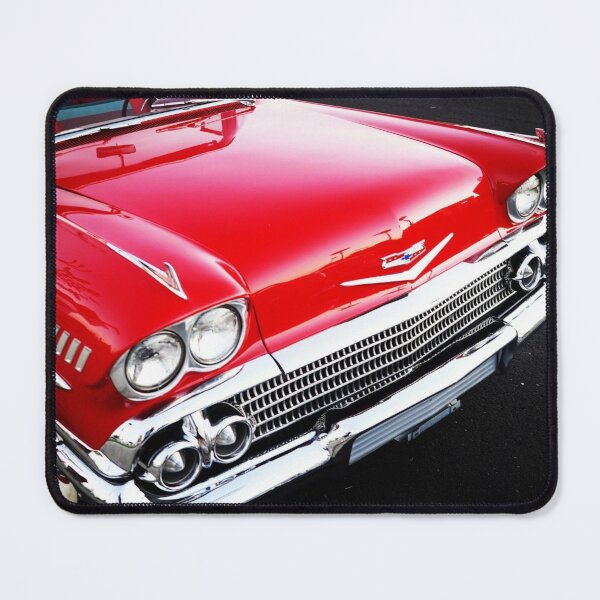 Red Chevy Mouse Pad