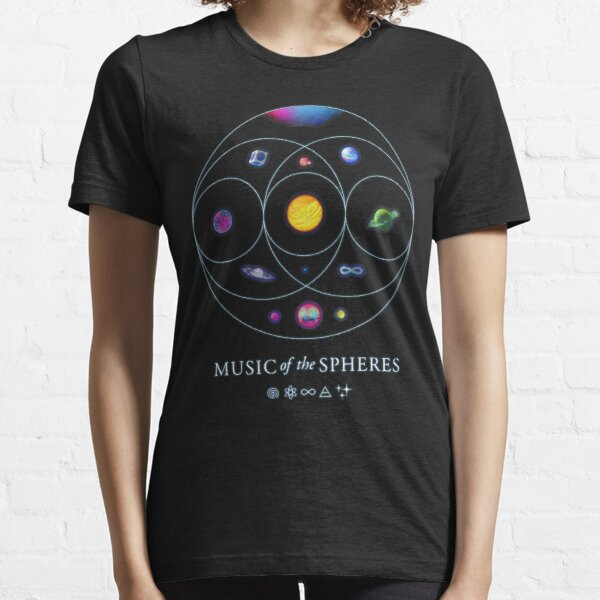 COLDPLAY THE SPHERES Essential T-Shirt