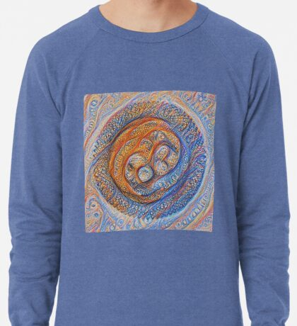 Orbits #DeepDream Lightweight Sweatshirt