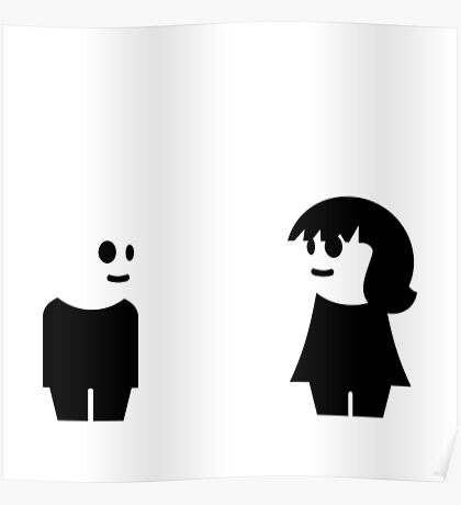 Goth Couple VRS2 Poster