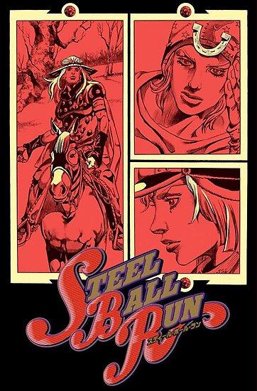 Quot Jojo S Bizarre Adventure Steel Ball Run Quot Poster By