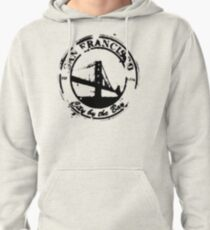 San Francisco - City By The Bay - Grunge Vintage Retro T-Shirt Pullover Hoodie