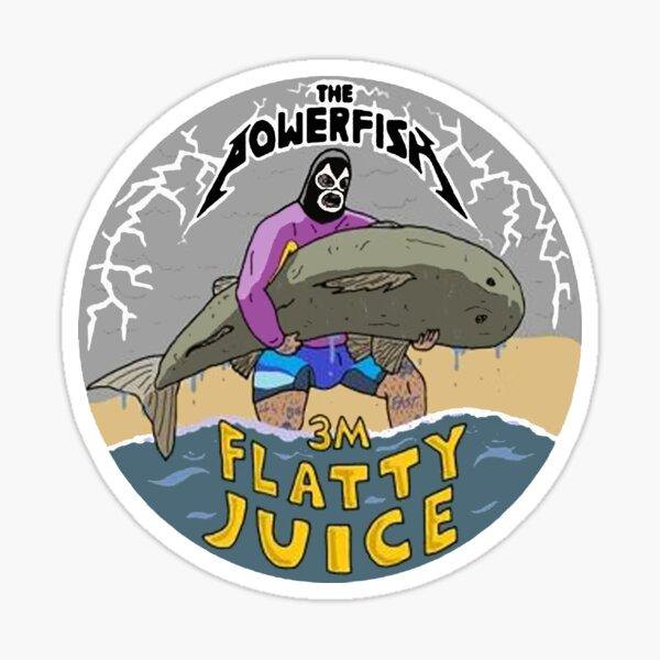 The powerfish 3m Flatty Juice Sticker