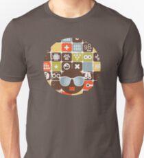 Robots on buttons T-Shirt