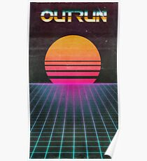 OUTRUN Poster Poster