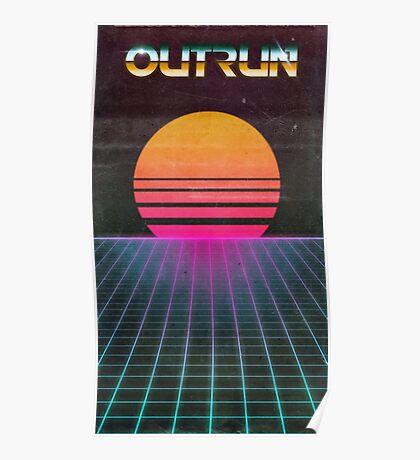 OUTRUN Poster Poster