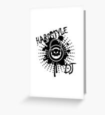 Hardstyle DJ VRS2 Greeting Card