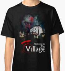 The Prisoner Welcome To The Village Classic T-Shirt