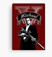 Michael V Canvas Print