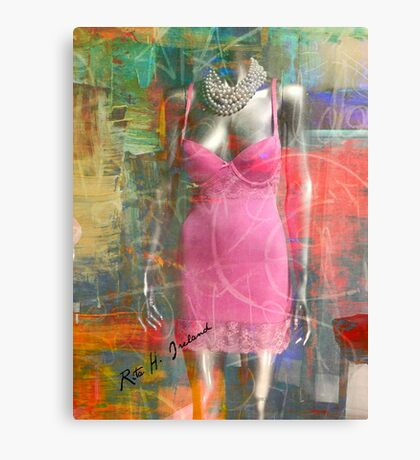 Pink Art Collection... Canvas Print