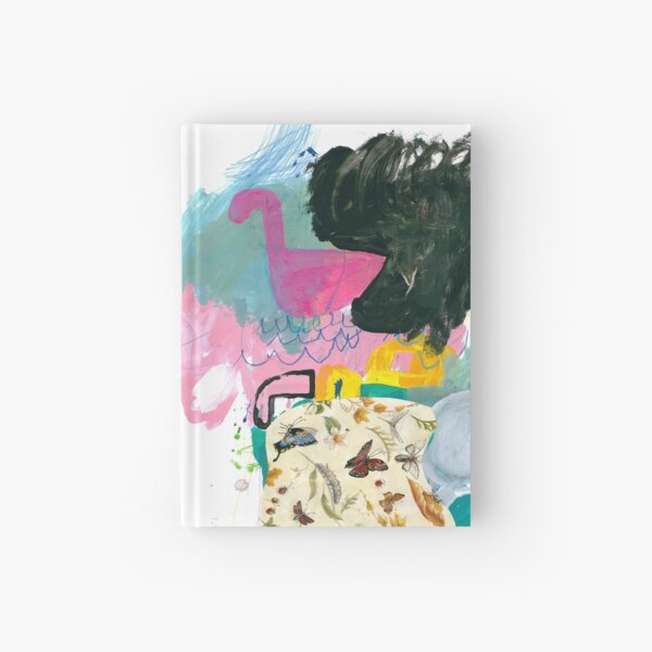 butterflies are free Hardcover Journal