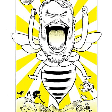 Brian Blessed - Blessed Bee! by Hutchings
