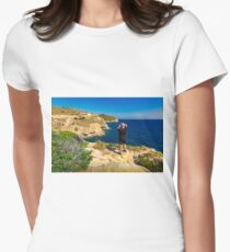 Location scouting Women's Fitted T-Shirt