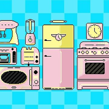 Pixel Appliances by finntheraver