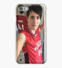 danisnotonfire (troy bolton selfie) iPhone Case/Skin