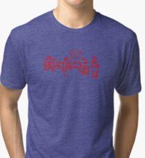 Ohm Mani Padme Hum Tri-blend T-Shirt
