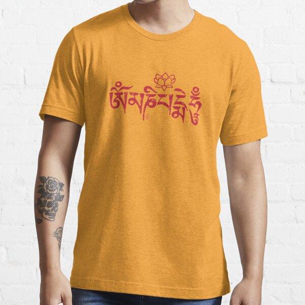Ohm Mani Padme Hum Essential T-Shirt