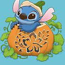 Hawaiian Halloween by dooomcat