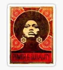 Angela Davis poster 1971 Sticker