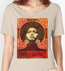 Angela Davis poster 1971 Women's Relaxed Fit T-Shirt