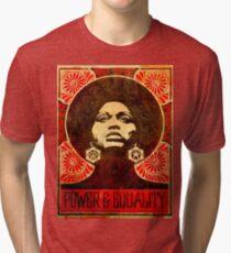 Angela Davis poster 1971 Tri-blend T-Shirt