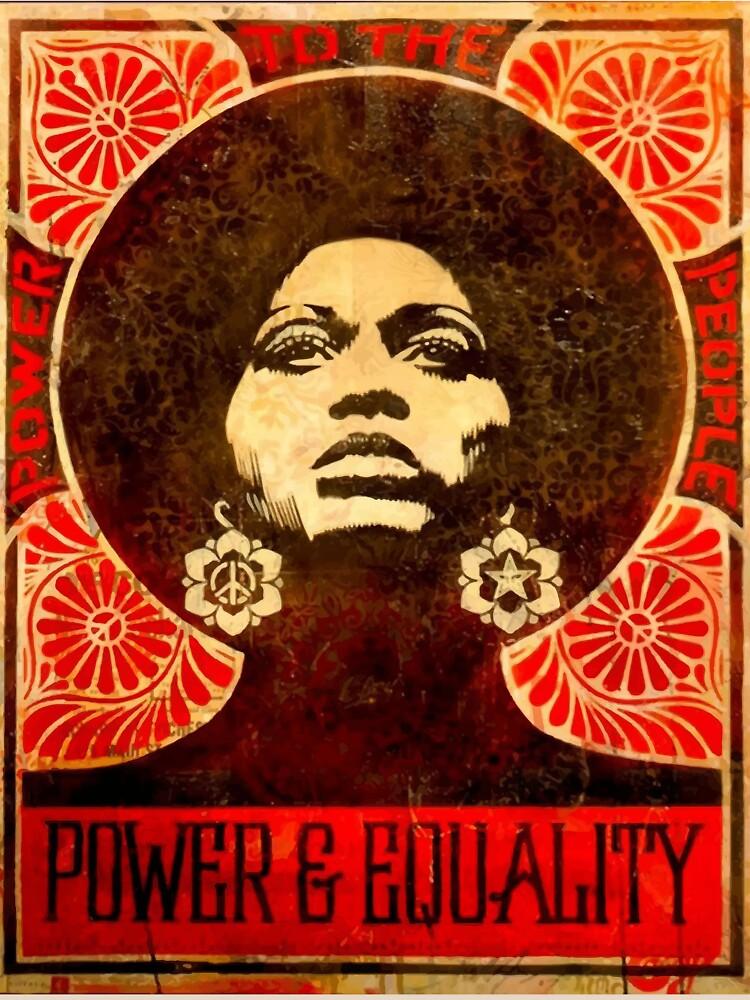 Angela Davis Plakat 1971 von yussername