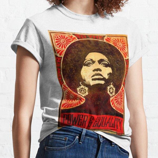 Angela Davis poster 1971 Classic T-Shirt