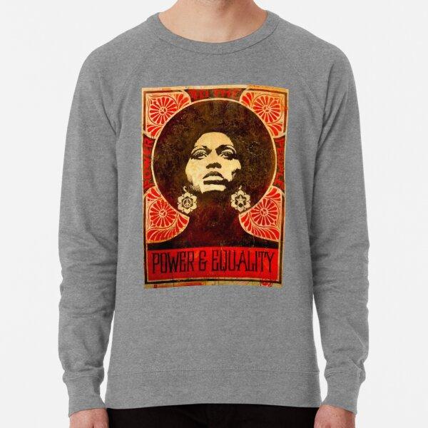 Angela Davis poster 1971 Lightweight Sweatshirt