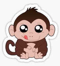 Chunky Monkey T-Shirt Sticker