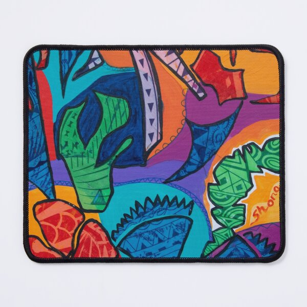 Pacific abstract  Mouse Pad