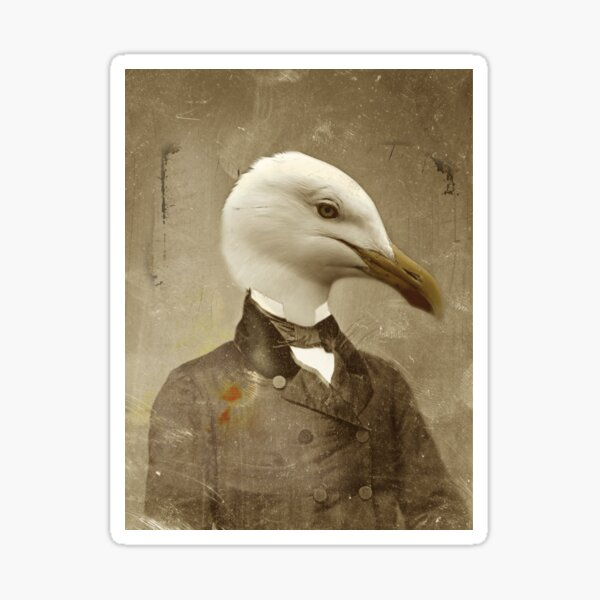 TIR-Head.1 - Seagull Sticker