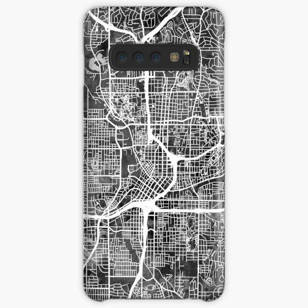 Atlanta Georgia Stadtplan Samsung Galaxy Leichte Hülle