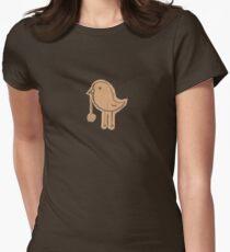 yo-yo bird Womens Fitted T-Shirt