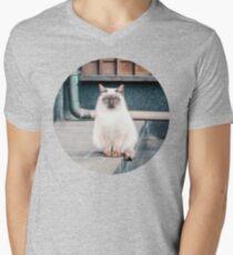 Cat, Aso, Temple T-Shirt