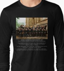Albert Einstein Solvay Conference 1927 Long Sleeve T-Shirt
