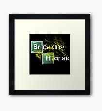 Breaking Horse Framed Print